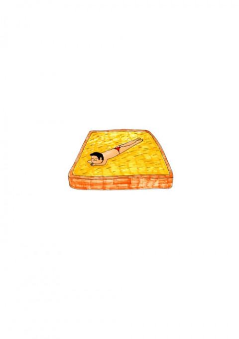 Sunburn Toast