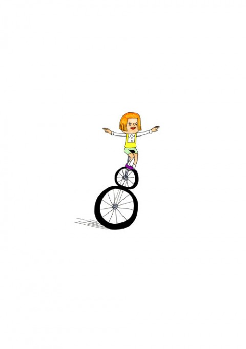 Doublecycle Girl