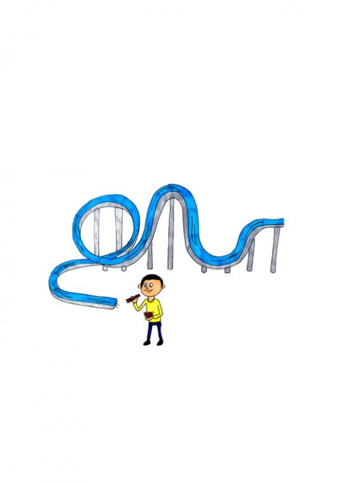 Roller Coaster Somen