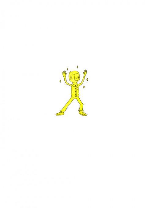 18-Karat Gold Man