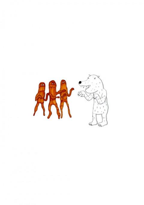 Aborigines VS Polar Bear