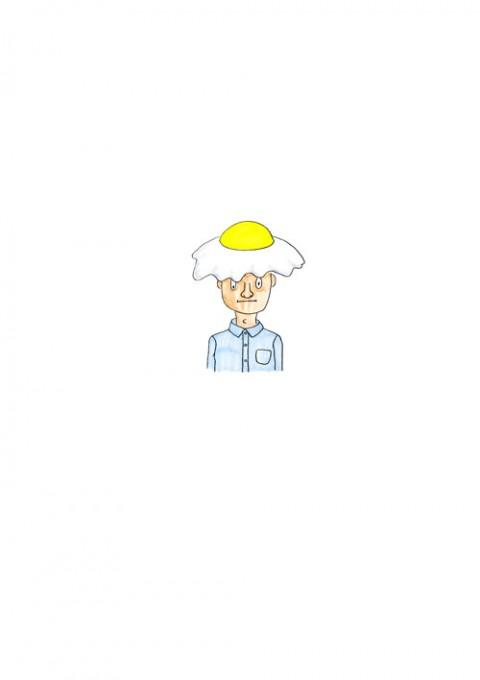 Fried Egg Hat