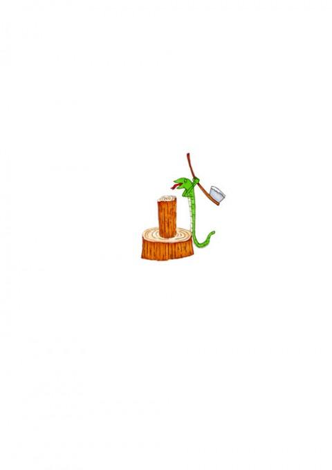 Firewood Split Snake