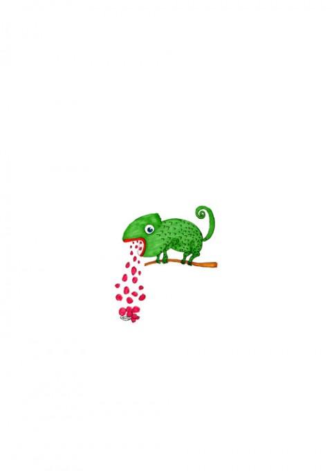 Chameleon Red Beans