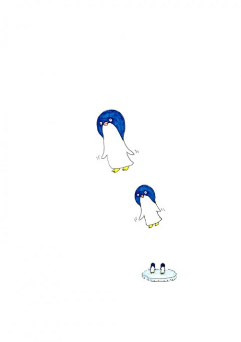 Balloon Penguin