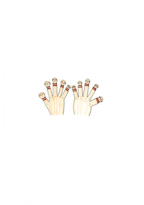 Kokeshi Finger