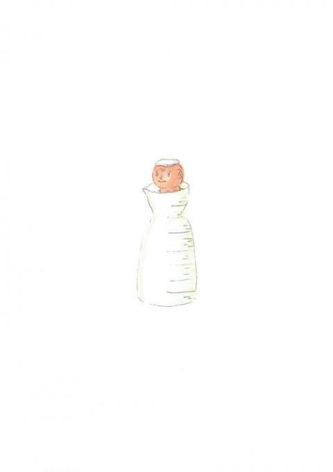 Sake Bottle Bath