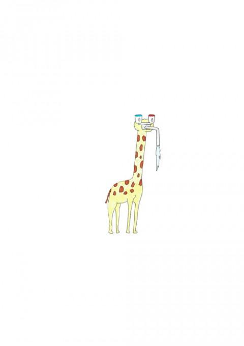 Faucet Giraffe