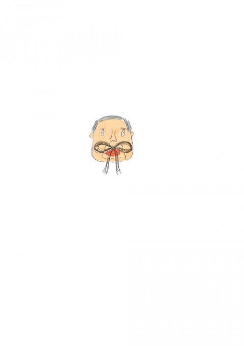 Butterfly Mustache