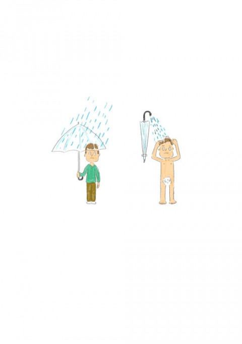 Umbrella Shower