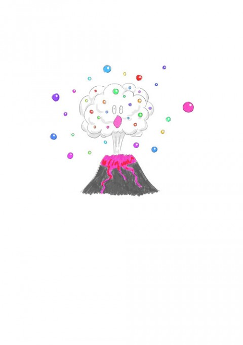 Pop Candy Volcano