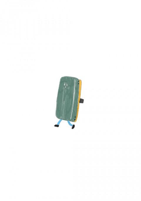 Board Eraser Mascot