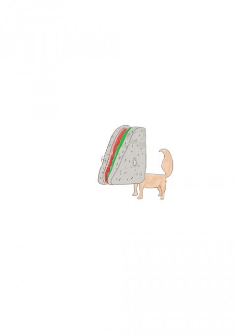 Konnyakuwich Dog