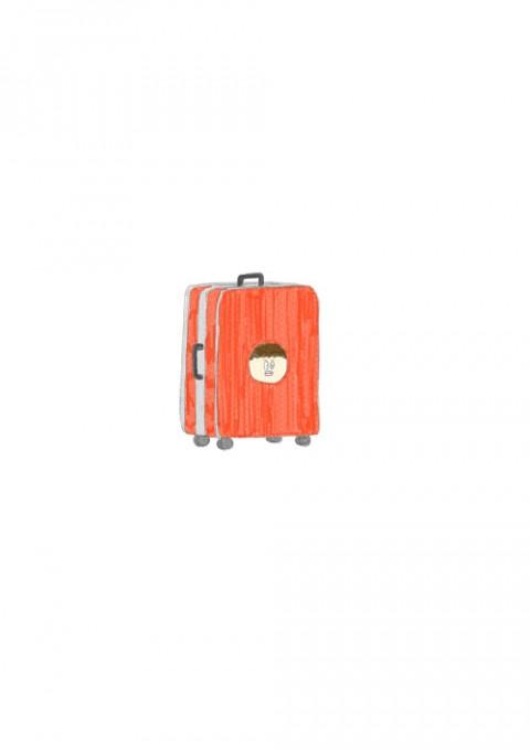 Human Suitcase