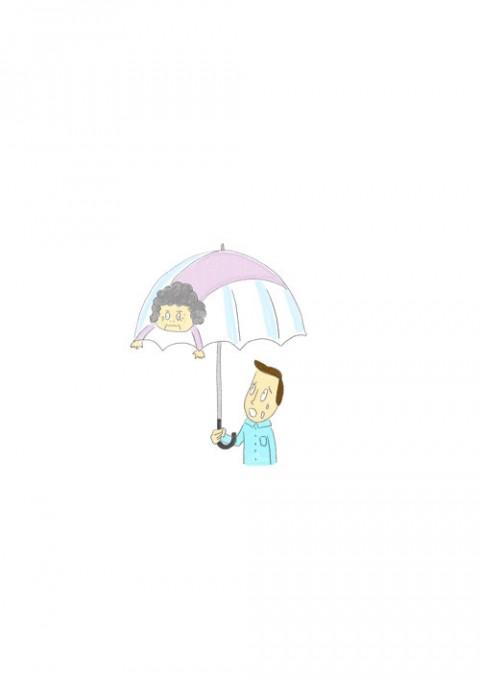Umbrella Grandma