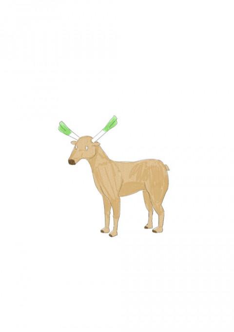 Leek Reindeer