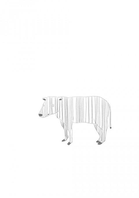 Bar Code Cow