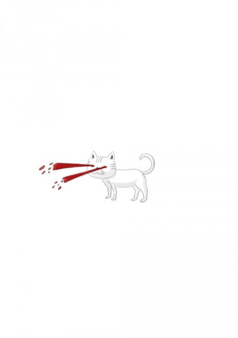 Blood Splash Cat's Eye