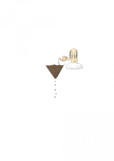 Drip Coffee Rain