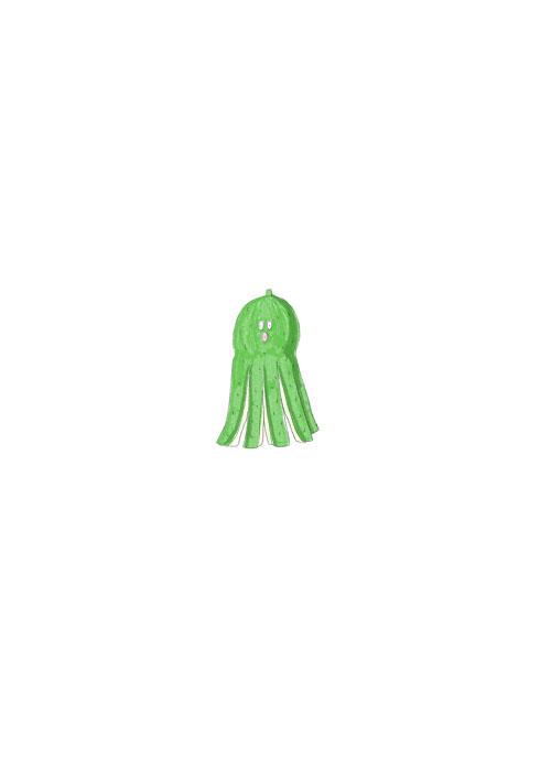 Cucumber Octopus
