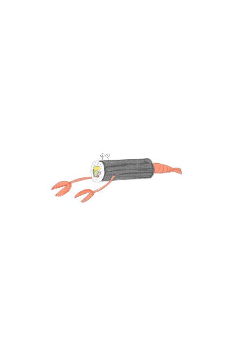 Futomaki Crayfish