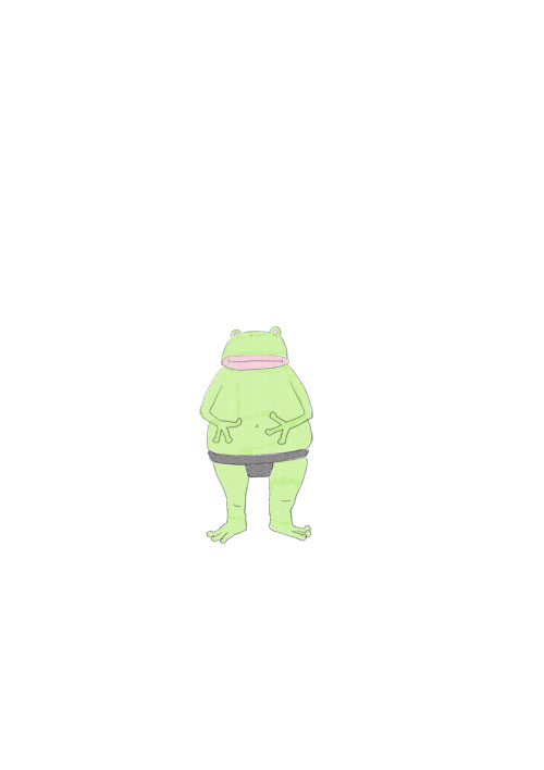 Frog Sumo Wrestler
