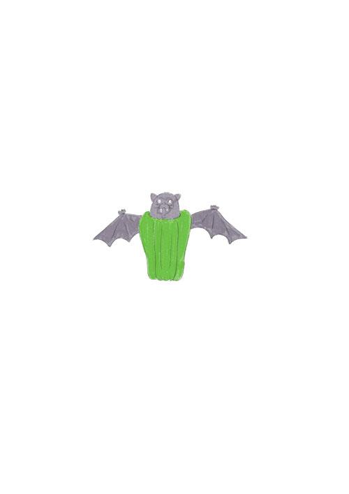 Green Pepper Bat