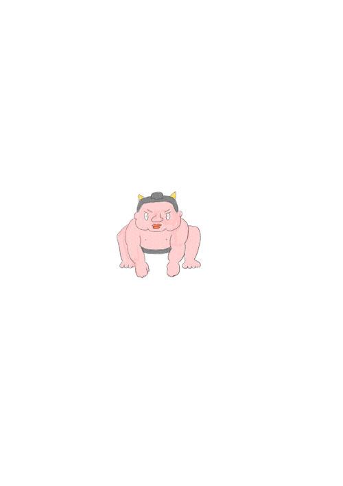 Oni Sumo Wrestler