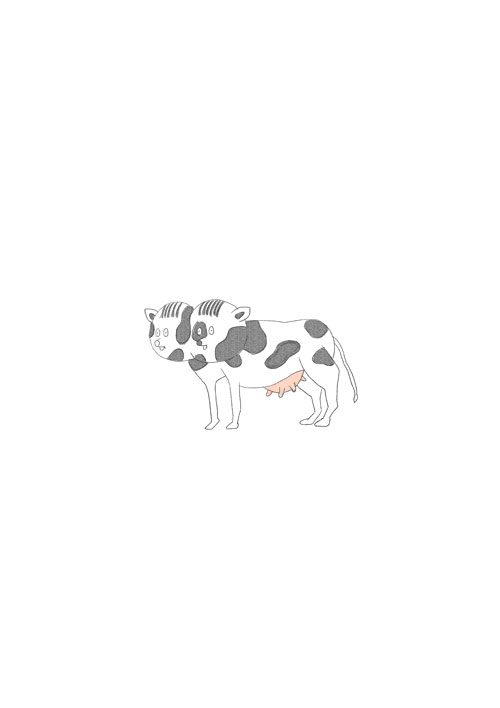 Double Heads Cow