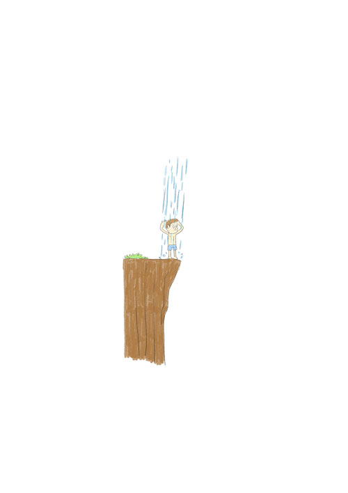 Natural Shower Cliff