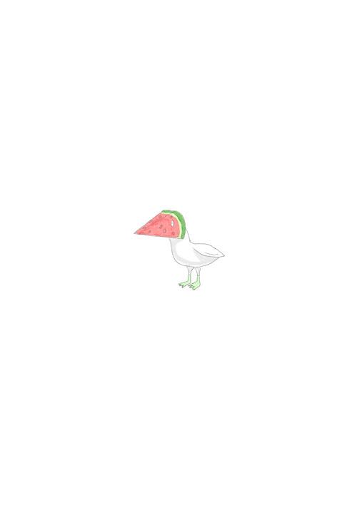 Watermelon Bird
