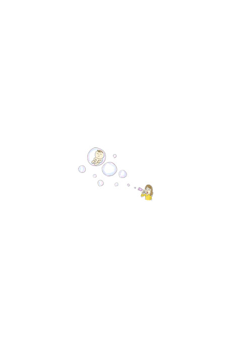 Soap Bubble Baby