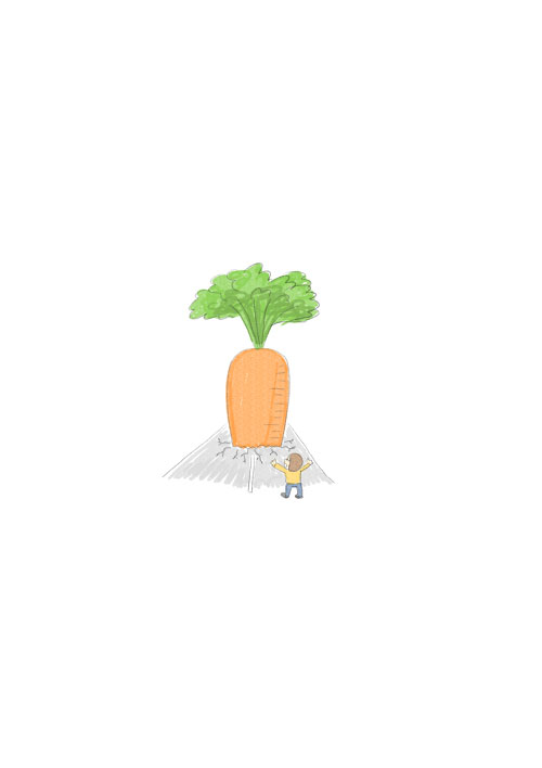 Big Carrot Tree