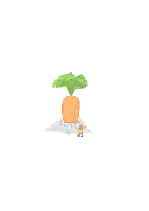 Big Carrot Tree