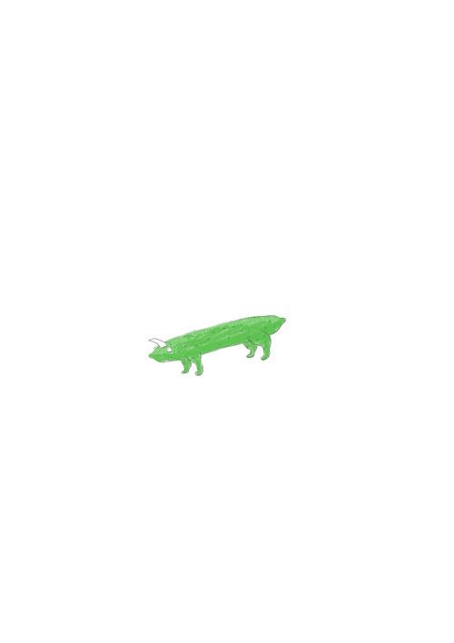 Cucumber Dinosaur