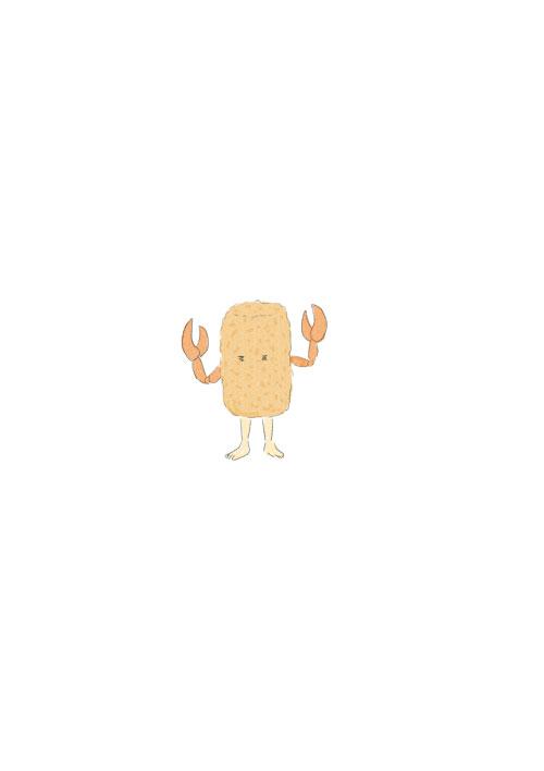 Crab Cream Croquette-kun
