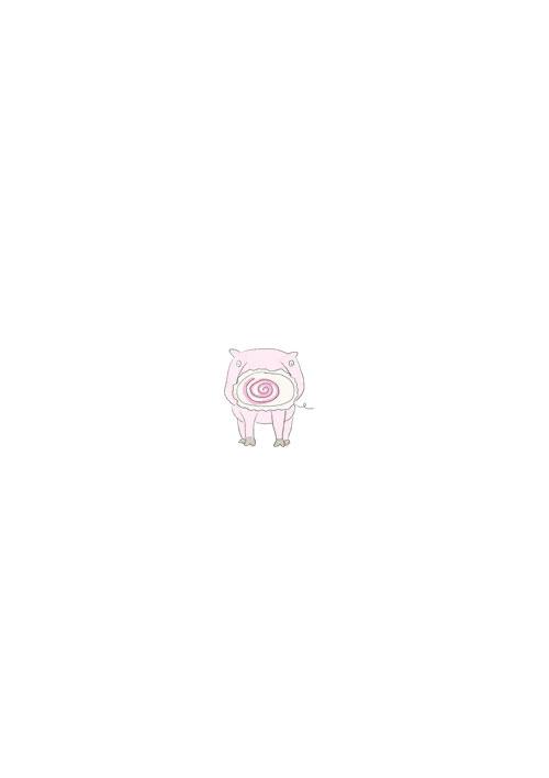 Naruto Nose Pig