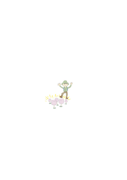 Marshmallow Mushroom