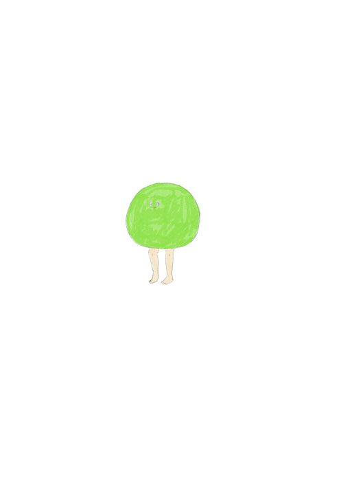 Green Peas Mascot