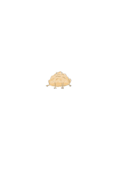 Cream Puff Frog