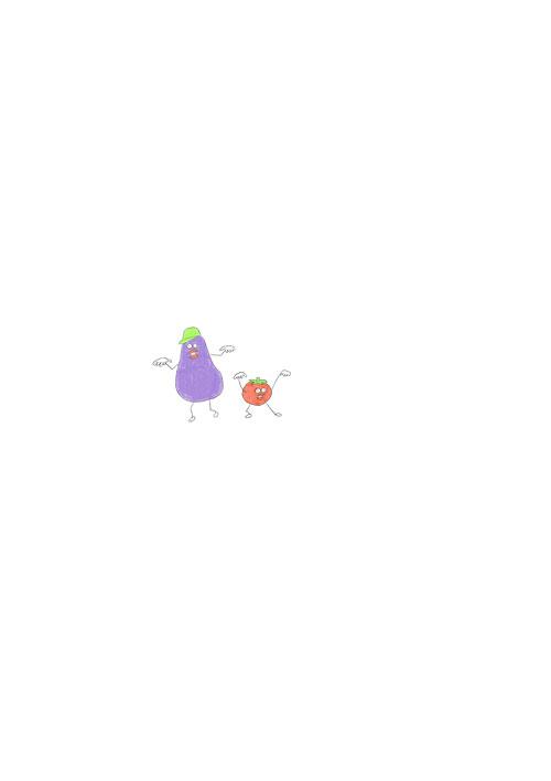 Eggplant & Tomato Rapper