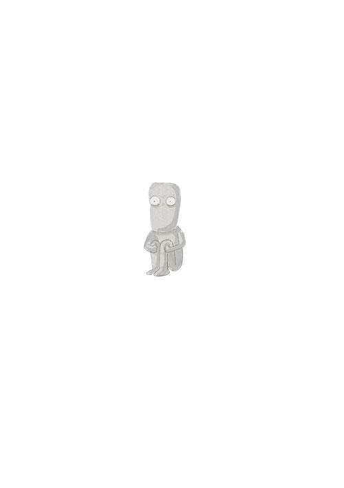 Sitting Moai