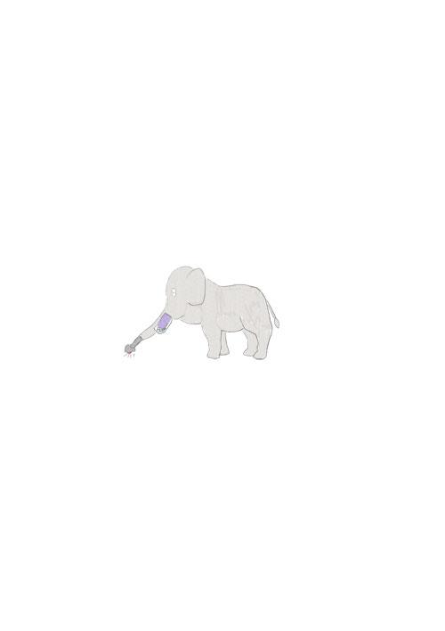 Vacuum Cleaner Elephant
